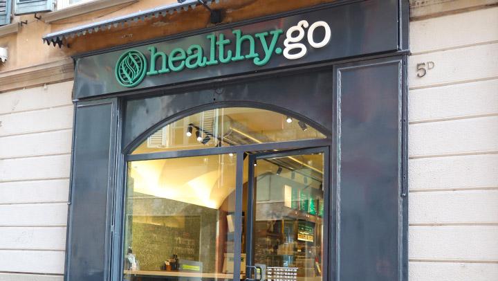 immagine locale Healthy Go da fuori